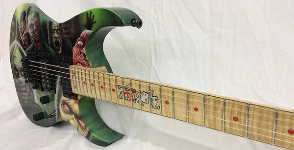 Walking Dead guitar